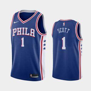 Philadelphia 76ers #1 Mike Scott Jersey